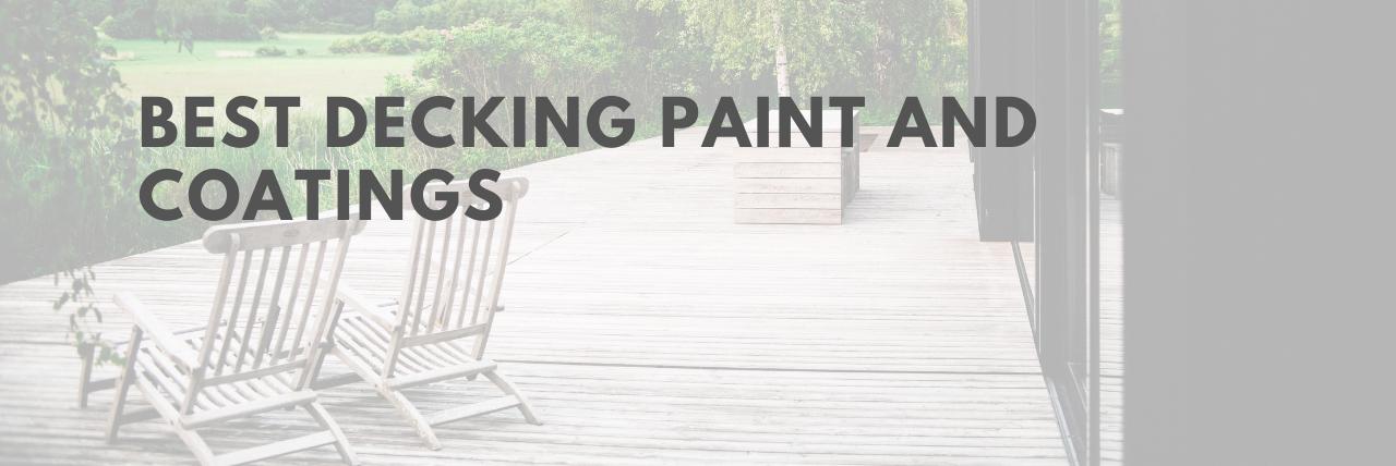 best decking paint