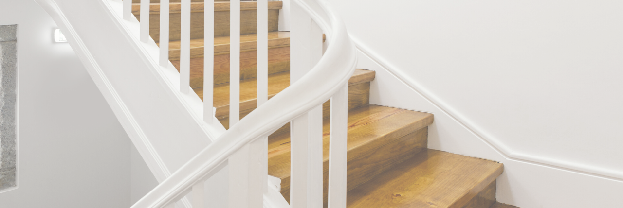 Satinwood Paint Staircase
